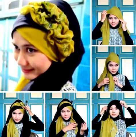 tutorial hijab untuk pesta terbaru 2015 10 tutorial hijab pesta simpel tapi elegan 2017