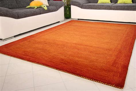 teppiche orange gabbeh teppich loribaft global carpet