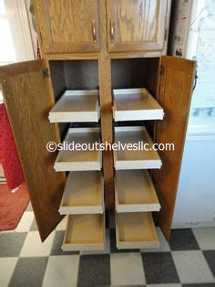 Rv Pantry Slide Out Shelves by Slide Out Pantry Shelves Pull Out Pantry Shelves