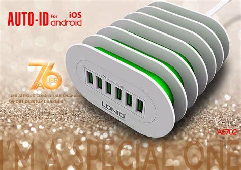 Ldnio A6702 6 Usb Ports 5v 7a Travel International Charger ldnio a6702 6 usb ports 4 92ft 1 5m travel charger input ac100 240v output 5v 7a us eu au uk
