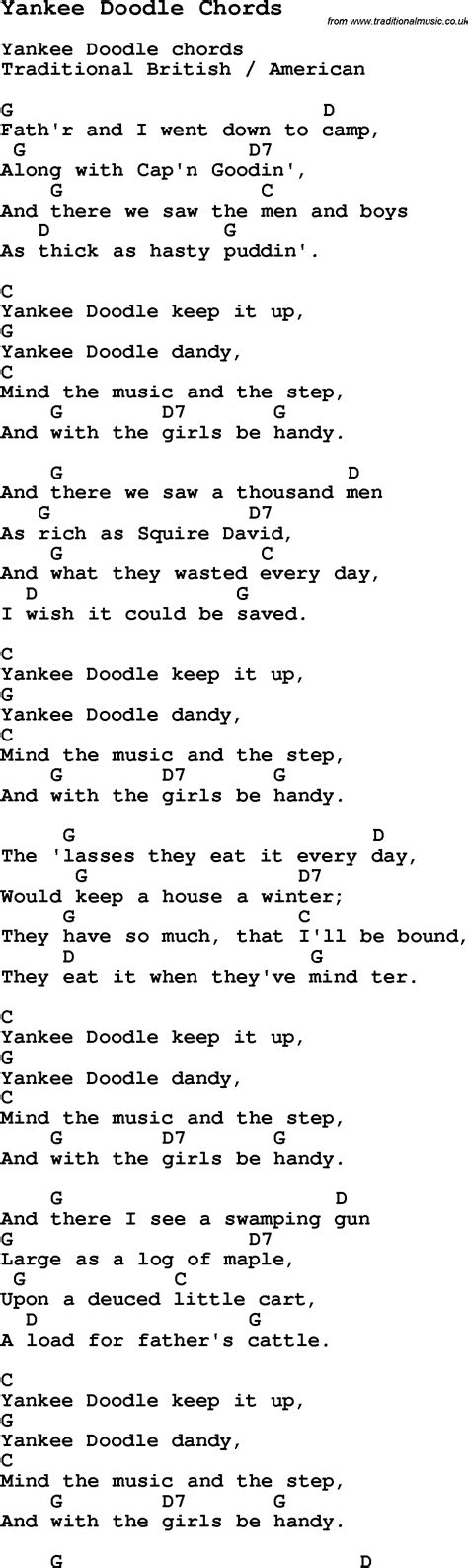 doodlebug lyrics yankee doodle lyrics www pixshark images galleries