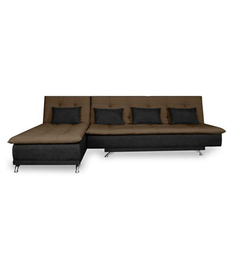 sofa cum bed in india adorn india aspen fabric sofa cum bed available at