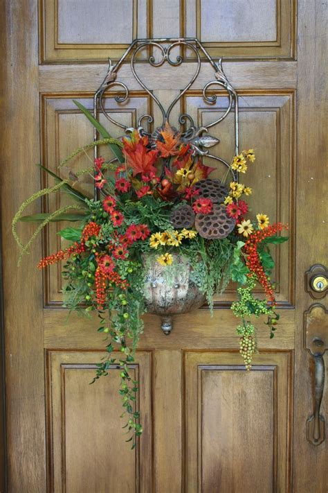Front Door Flower Arrangements 763 Best Images About Door Basket On Wall Basket Floral Arrangements And Silk