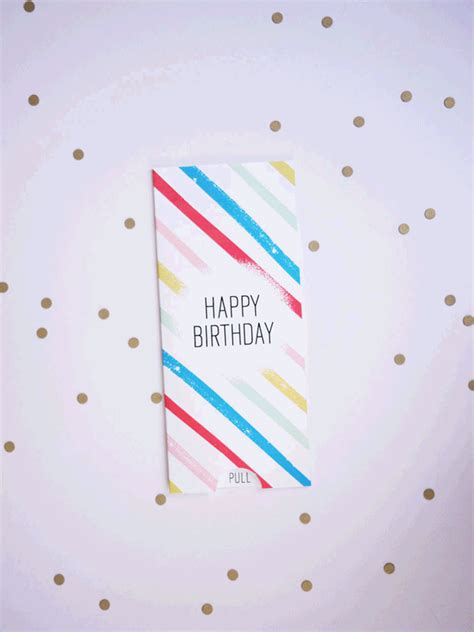 Candle Pop Up Card Template Free by Printable Birthday Pull Card