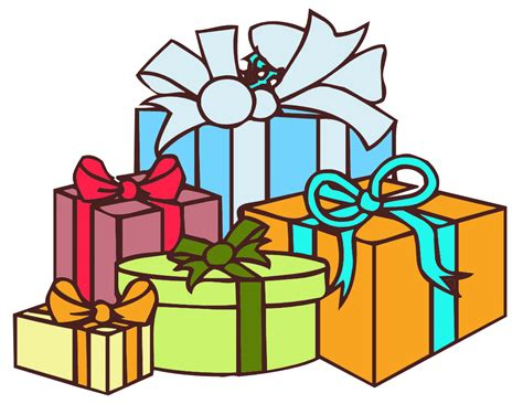 free gifts for gifts clip cliparts co
