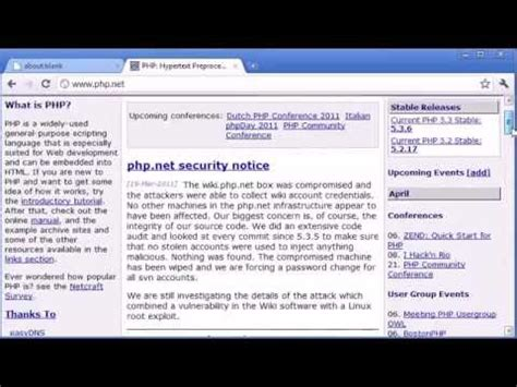 tutorial php web development beginner php tutorial 1 introduction to php learn