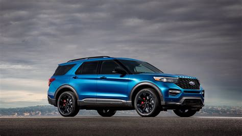 2020 ford explorer hybrid mpg 2020 ford explorer st wallpapers hd images wsupercars
