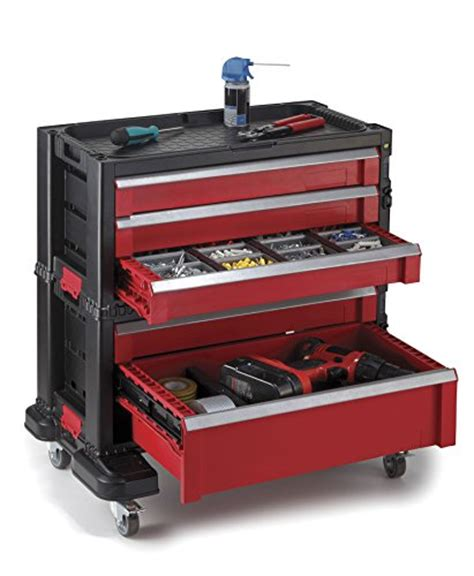 Drawer Storage System Keter 5 Drawer Modular Garage And Tool Organizer And