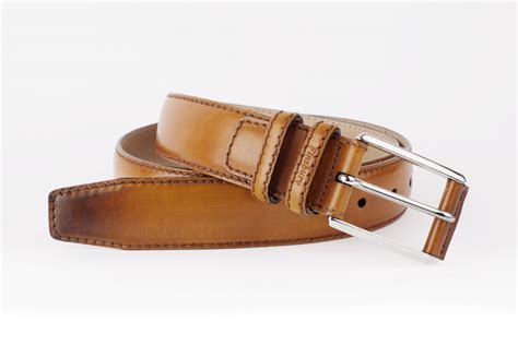 light brown patina s leather belt finsbury shoes