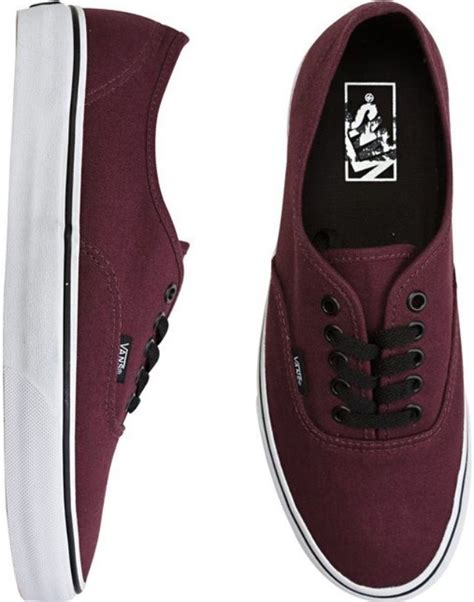 Vans Authentic Classic Maroon best 25 maroon vans ideas on