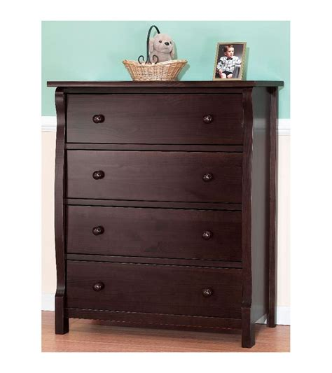 Espresso Nursery Dresser by Sorelle Tuscany 2 Nursery Set In Espresso Crib 4 Drawer Dresser