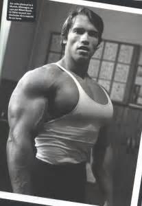 Arnold schwarzenegger training workout photos