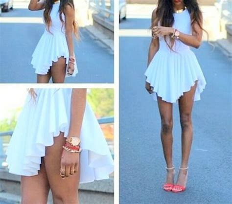 Sneakers H820 outletpad irregular fashion halter dress store