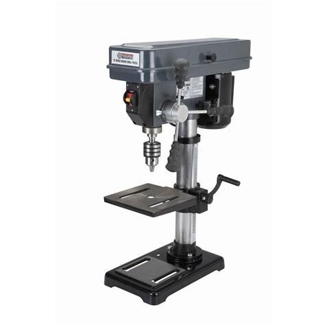 speed bench drill press