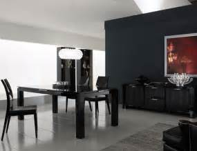 Black Dining Rooms by Modern House Modern And Luxury Dining Room Design With