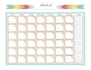monthly calendar templates 25 best ideas about monthly calendar template on