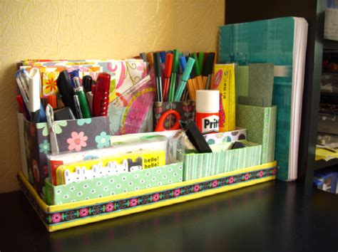 7 Creative And Useful Diy Desk Organizers Desk Organization Diy