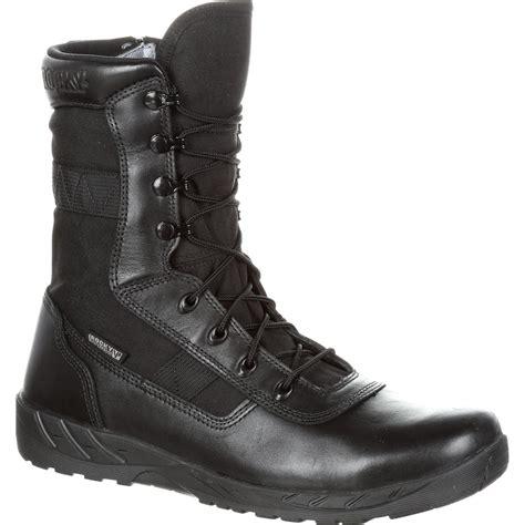 duty boots rocky c7 zipper waterproof black duty boots rkd0036