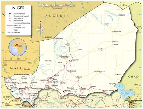 political map of niger niger participatory local democracy