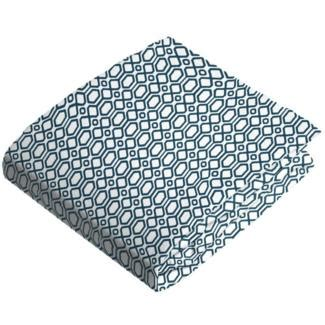 octagon baby crib kushies flannel receiving blanket grey ornament b540 537