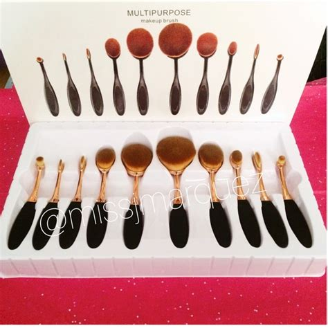 Makeup Set Sephora sephora 10 oval brush set from missj s closet on