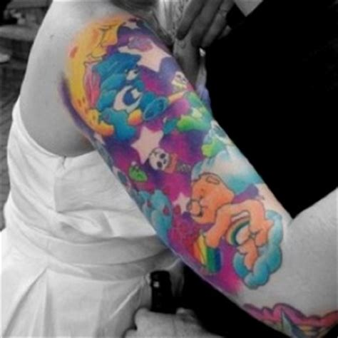 care bear tattoos designs care bears tattoos