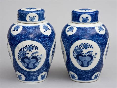 Vases With Lids For Sale Pair Of 18th Century Delft Vases And Lids For Sale