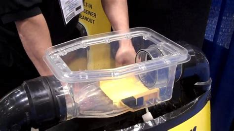 Demo of Sewer Backflow Prevention Device at ACE 2010   YouTube