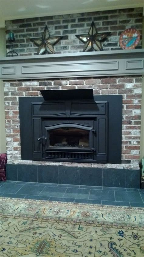 Fireplace Heat Deflector by 1000 Ideas About Wood Stove Wall On Wood