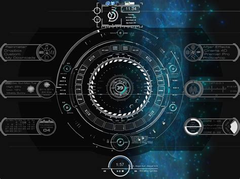 new themes for rainmeter my first rainmeter desktop console by truonyxfire on