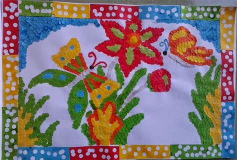 cara membuat seni montase ayu sasmita dewi membuat seni mozaik