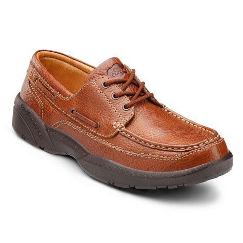 comfort shoe store dr comfort patrick men s therapeutic extra depth boat shoe
