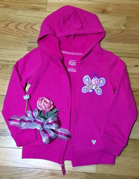 butterfly hoodie embroidery project  marisa littleton