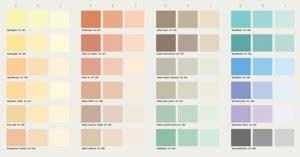 farbkarte schöner wohnen farben mischen tabelle oltre 25 fantastiche idee su