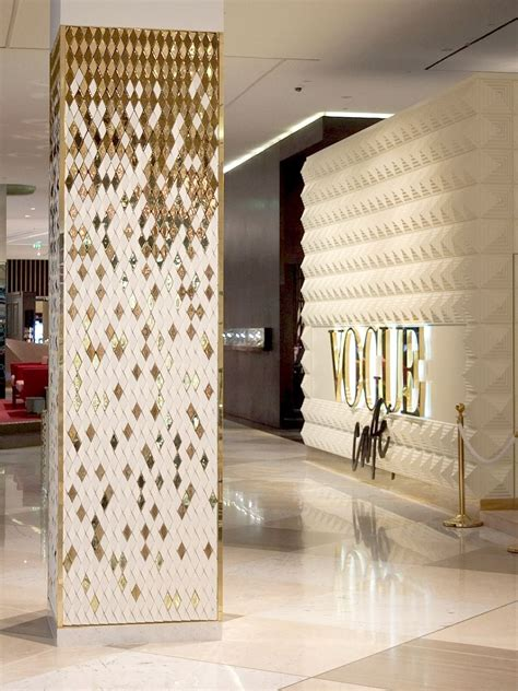 interior column designs vogue headquarters headquarters pinterest