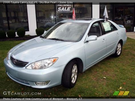 2006 Toyota Camry Xle Sky Blue Pearl 2006 Toyota Camry Xle V6 Gray