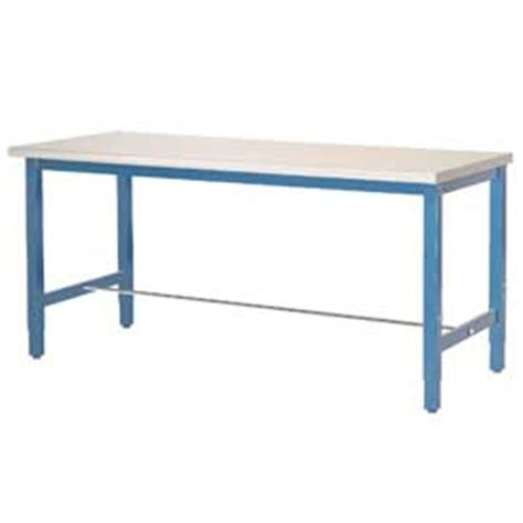 lab bench work laboratory work bench adjustable height 60x36 plastic