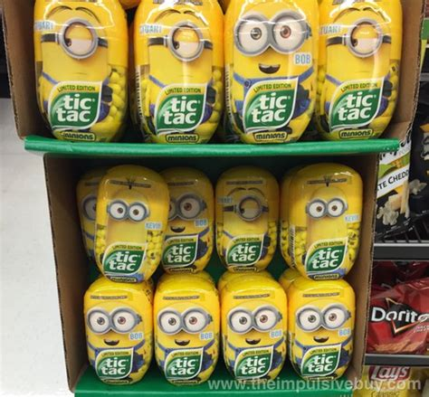 Special Edition Banner Minion spotted on shelves limited edition tic tac minions the impulsive buy