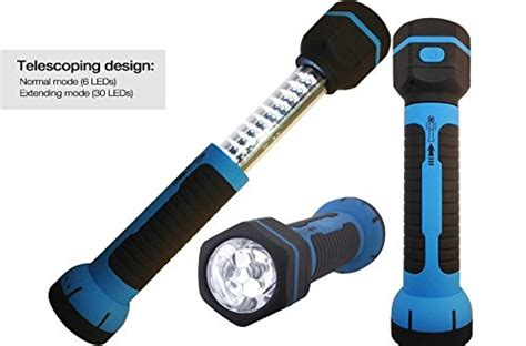 rechargeable led work light with magnetic base rechargeable led flashlight torch telescoping