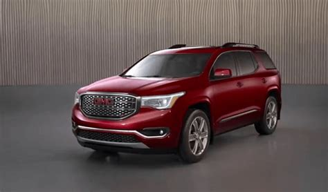 gmc arcadia price gmc acadia reviews gmc acadia price photos and specs
