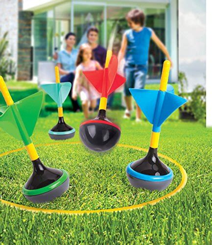 backyard darts outdoor backyard lawn game for kids 6 pcs set best fun