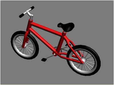 Lu Ruji Ban Roda Sepeda membuat sepeda dengan 3ds max kreasi tanpa batas