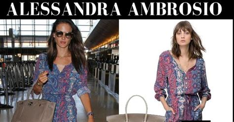 Jumpsuit Chanel Lq alessandra ambrosio in blue paisley print jumpsuit with beige birkin bag at lax on august 31 i