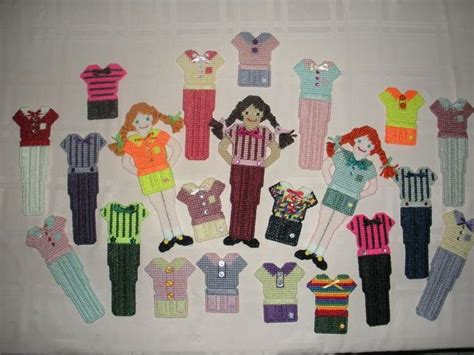Paper Doll Craft Ideas - plastic canvas quot paper doll quot wardrobe 2 craft ideas