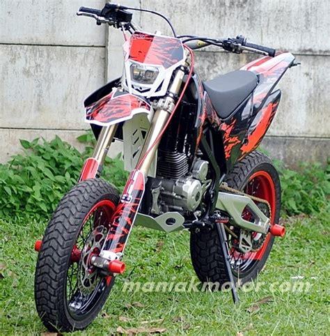 Shock Kawasaki D Tracker Modifikasi Kawasaki D Tracker 150 Jakarta Kaki Kaki