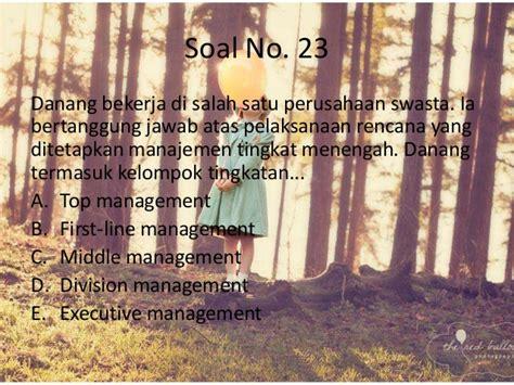 Soal Jawab Manajemen by Soal Ekonomi Manajemen