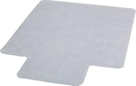 Clear Plastic Chair Mat by Flash Furniture 45 X 53 Carpet Chair Mat With Lip Ebay