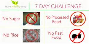 7 day challenge to reduce weight and get flat belly build healthy body