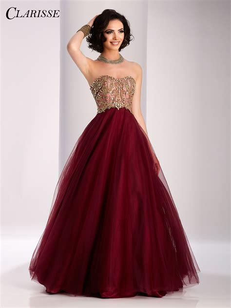 bal gowns clarisse prom dress 3011 promgirl net