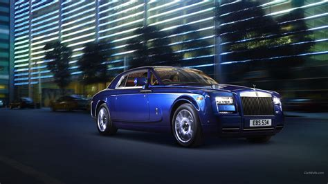 rolls royce phantom blue car rolls royce phantom blue cars wallpapers hd